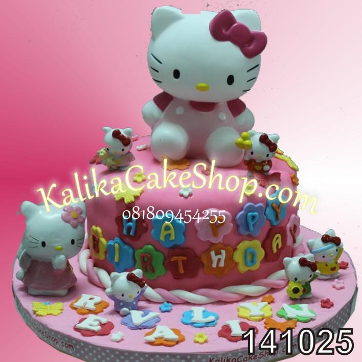 Kue Ulang Tahun HelloKitty Revalyn