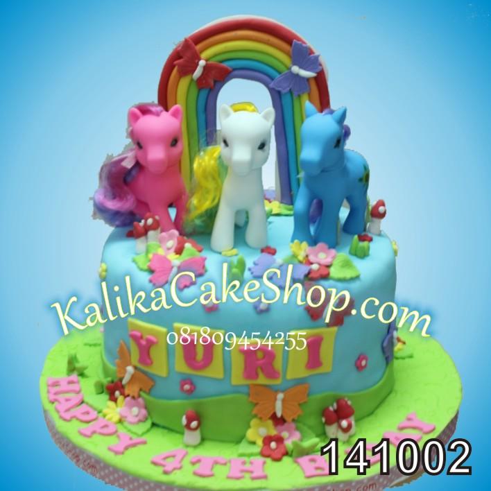 Kue Ulang Tahun Little Pony Yuri