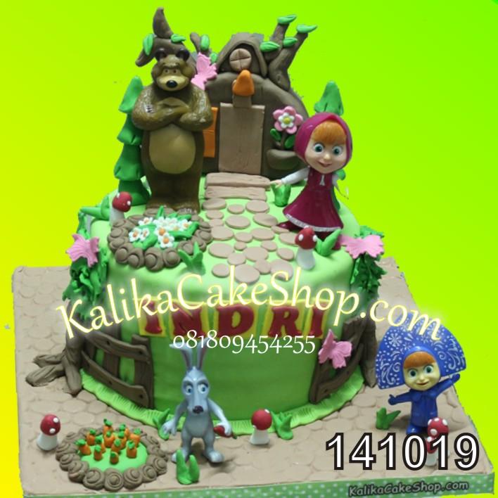 Kue Ulang Tahun Masya Indri