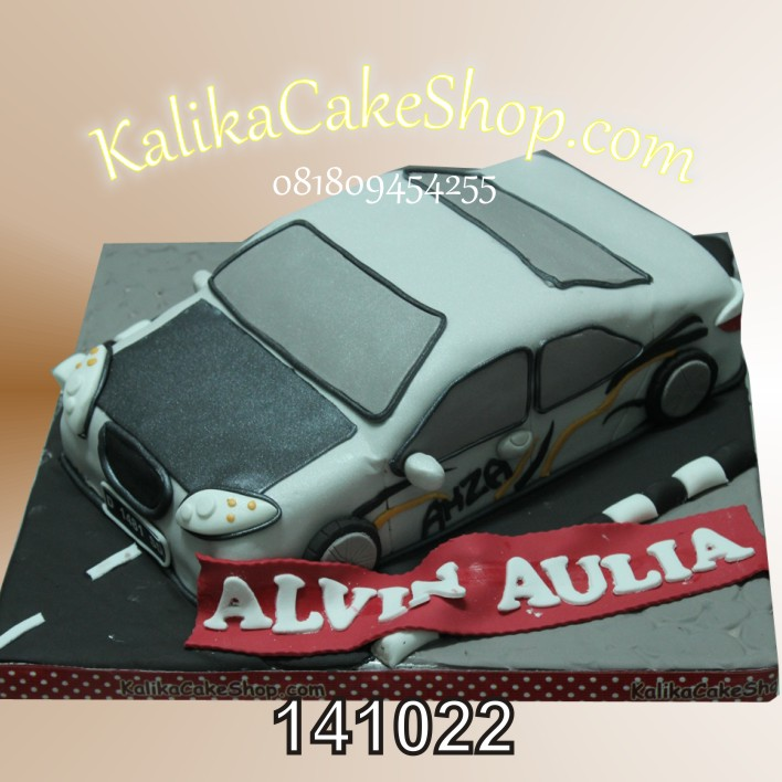 Kue Ulang Tahun Mobil Alvin