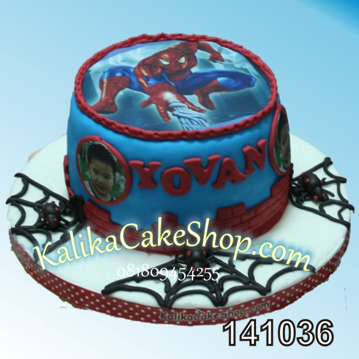 Kue Ulang Tahun Spiderman YOVAN