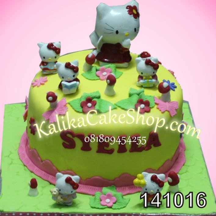 Kue Ulang Tahun Hello Kitty Syeila