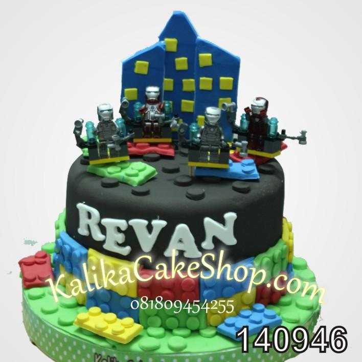 Kue Ulang tahun Lego Ironman Revan