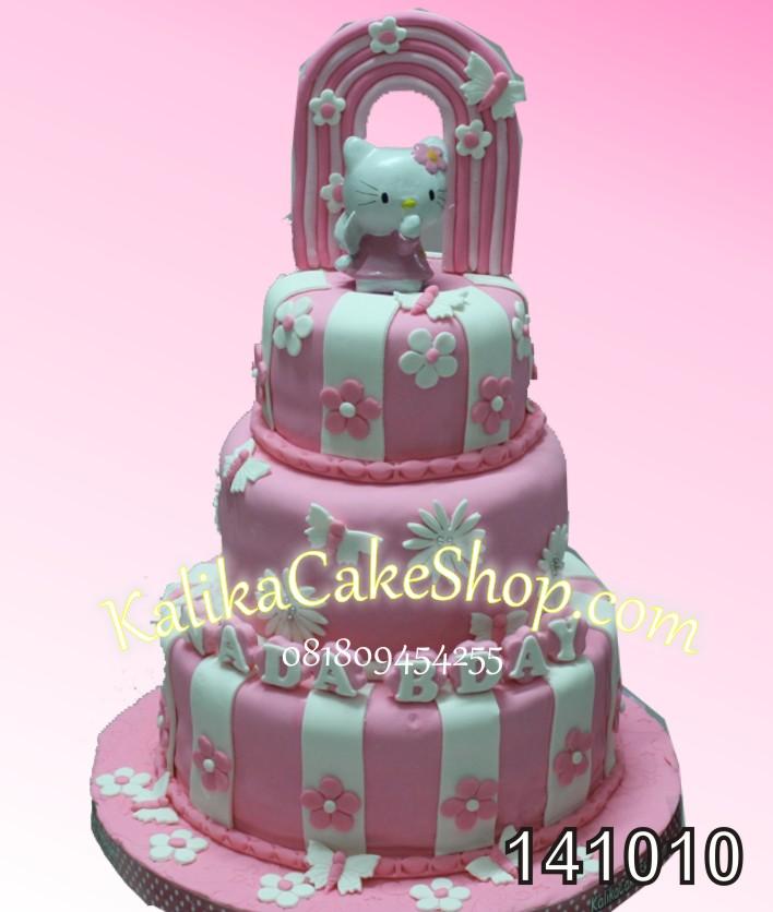 Kue Ulang Tahun Hello Kitty 3susun Kue Ulang Tahun Bandung