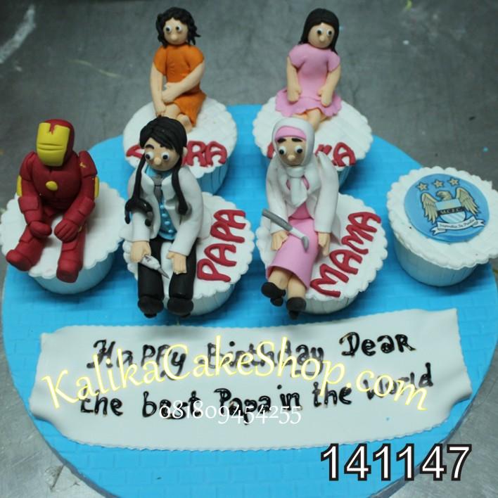 Cup Cake Set 6