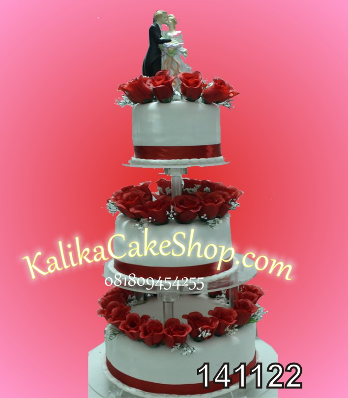 Kue Pengantin 3 susun