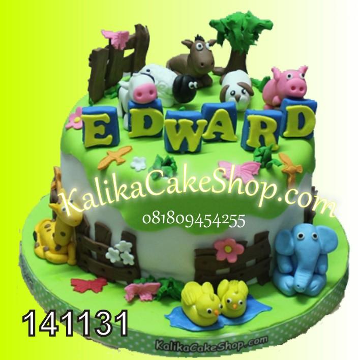 Kue Ulang Tahun Animal Farm