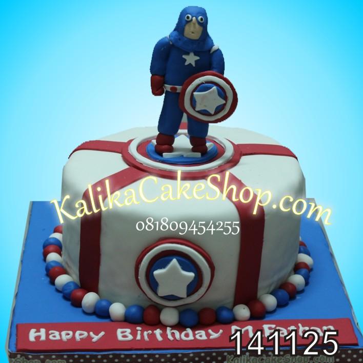 Kue Ulang Tahun Avenger