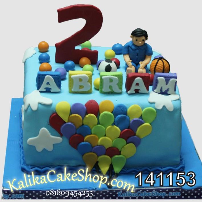 Kue Ulang Tahun Bola Abram