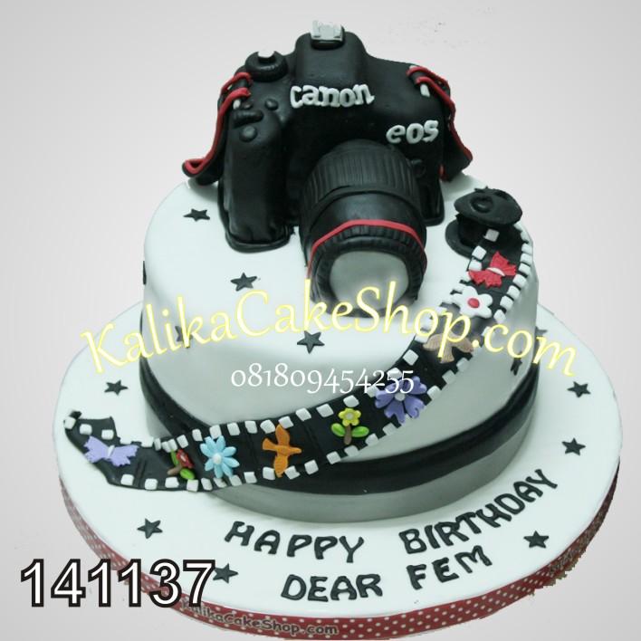 Kue Ulang Tahun Canon Fem