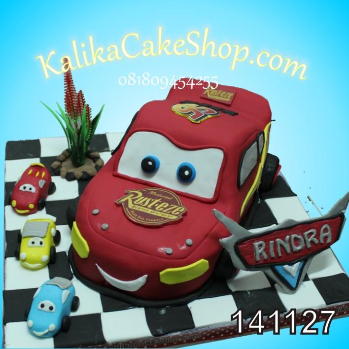 Kue Ulang Tahun Cars McQueen