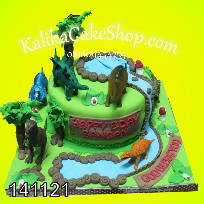 Kue Ulang Tahun Dinosaurus