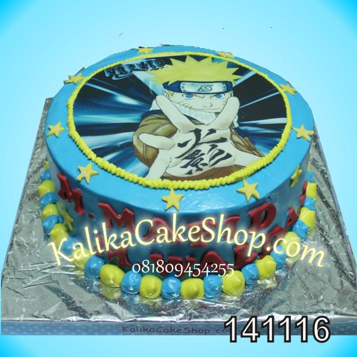 Kue Ulang Tahun Edible Naruto