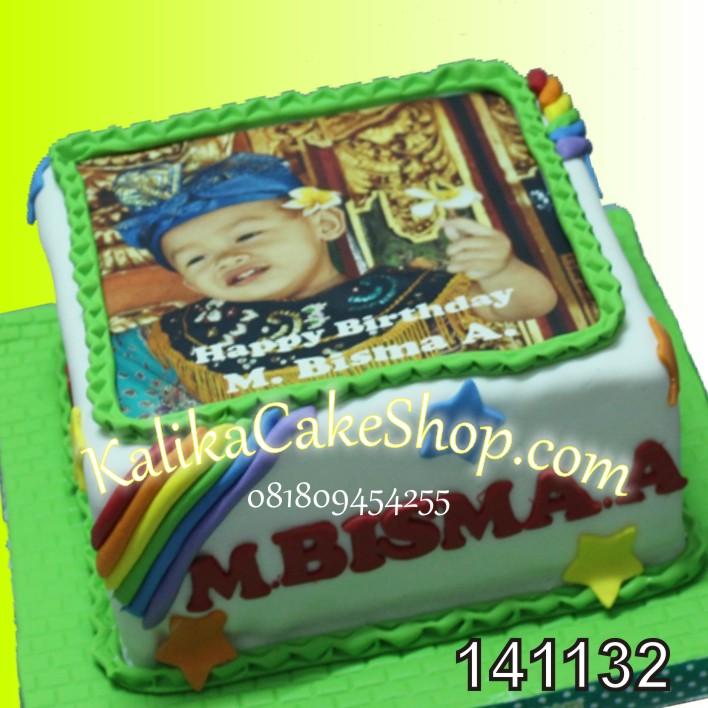 Kue Ulang Tahun Edible Poto