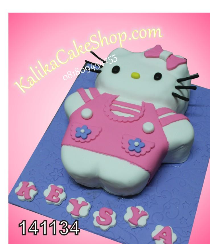 Kue Ulang Tahun Hello Kitty Keysya