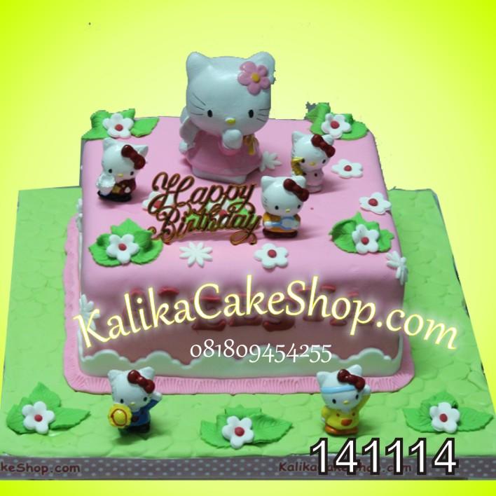 Kue Ulang Tahun Hello Kitty