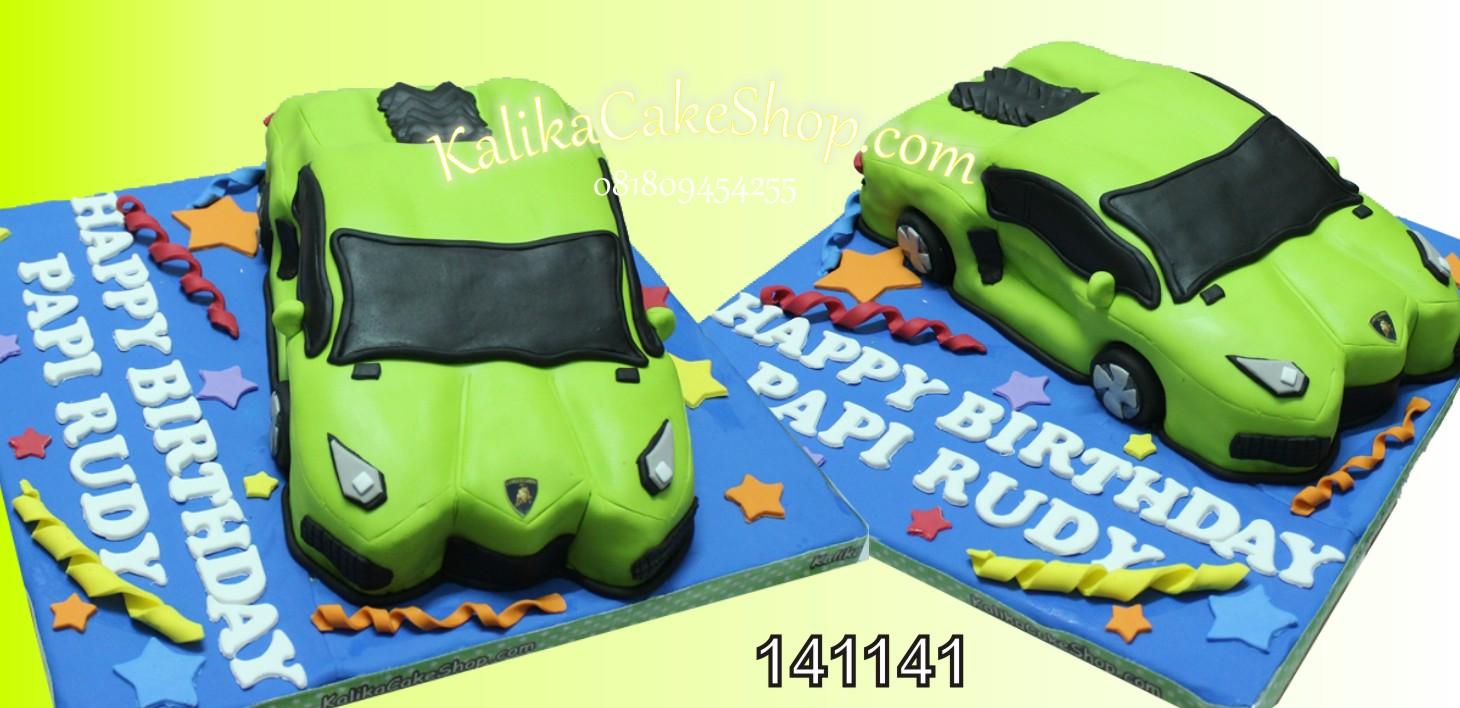 Kue Ulang Tahun Lamborghini