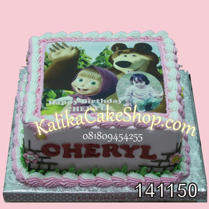 Kue Ulang Tahun Masha Cheryl