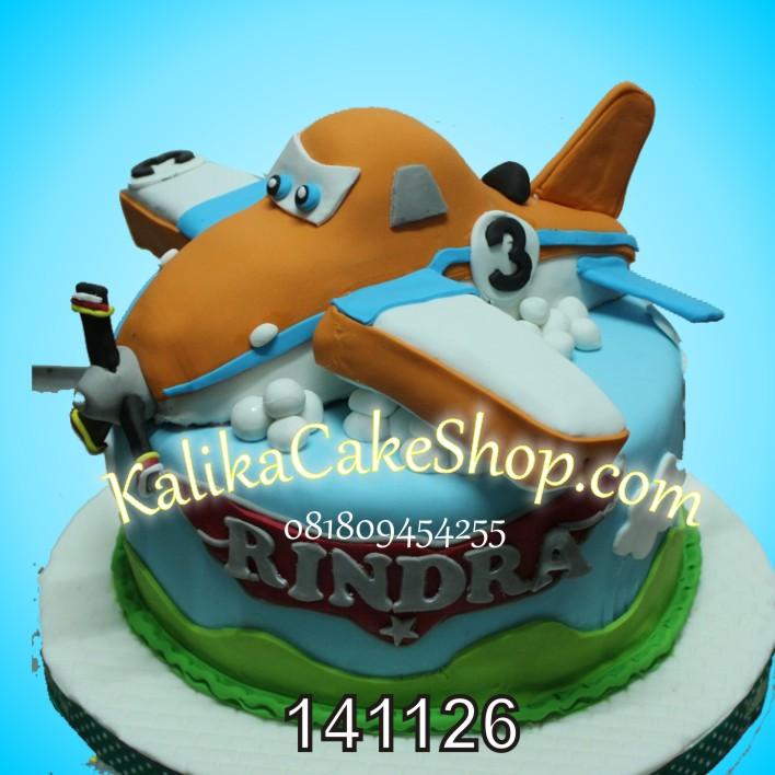 Kue Ulang Tahun Planes