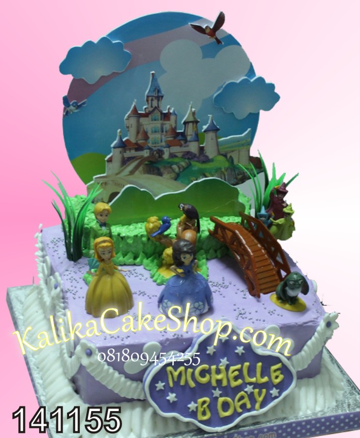 Kue Ulang Tahun Sofia Michelle