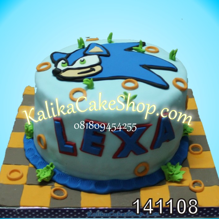 Kue Ulang Tahun Sonic LEXA