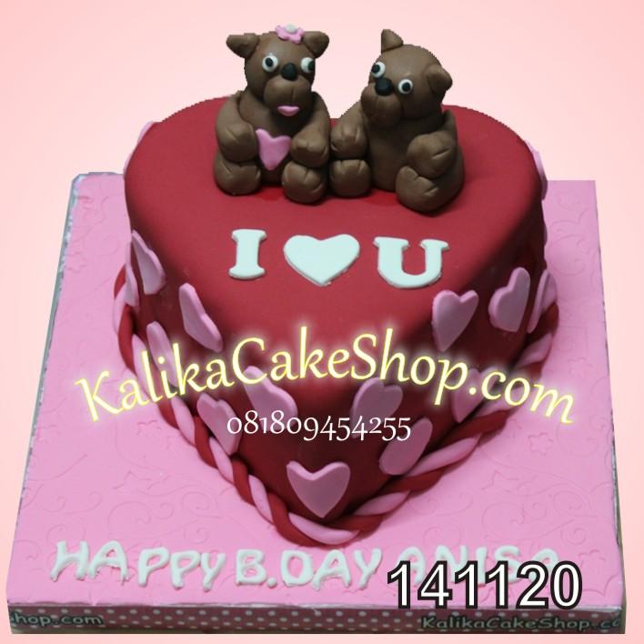 Kue Ulang Tahun Teddy Bear
