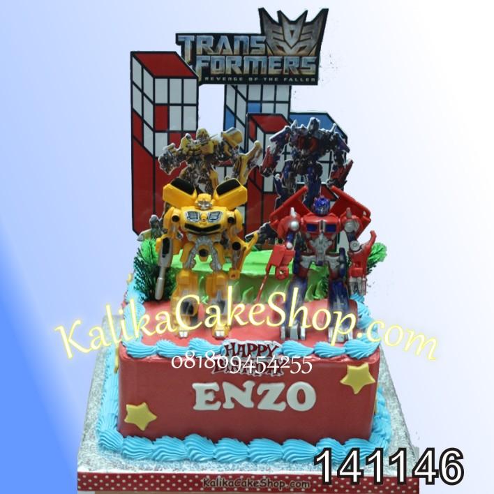 Kue Ulang Tahun Transformer ENZO