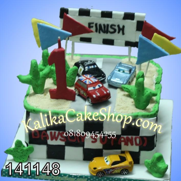 Kue Ulang tahun Cars dawson