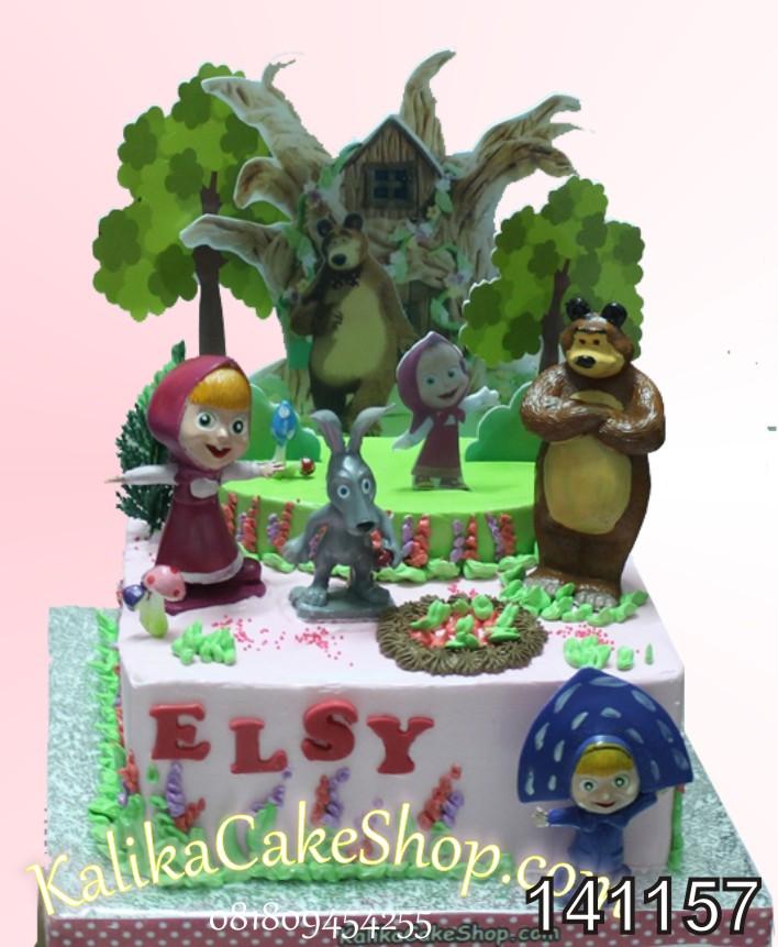 Kue Ulng Tahun Masha Elsy
