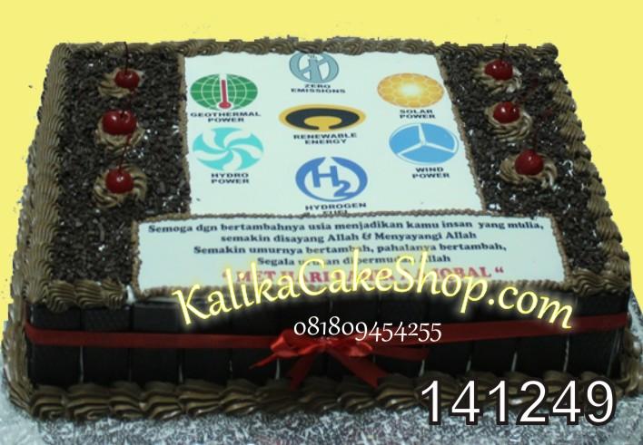 Kue Ulang Tahun Edible Photo 30x40