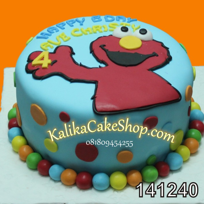 Kue Ulang Tahun Elmo Ave