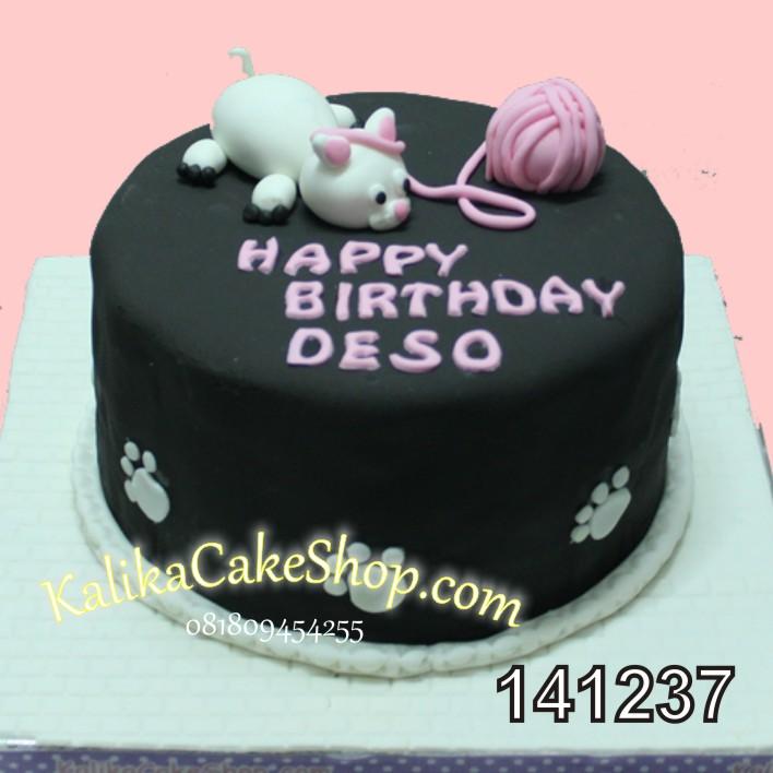 Kue Ulang Tahun Kucing Deso