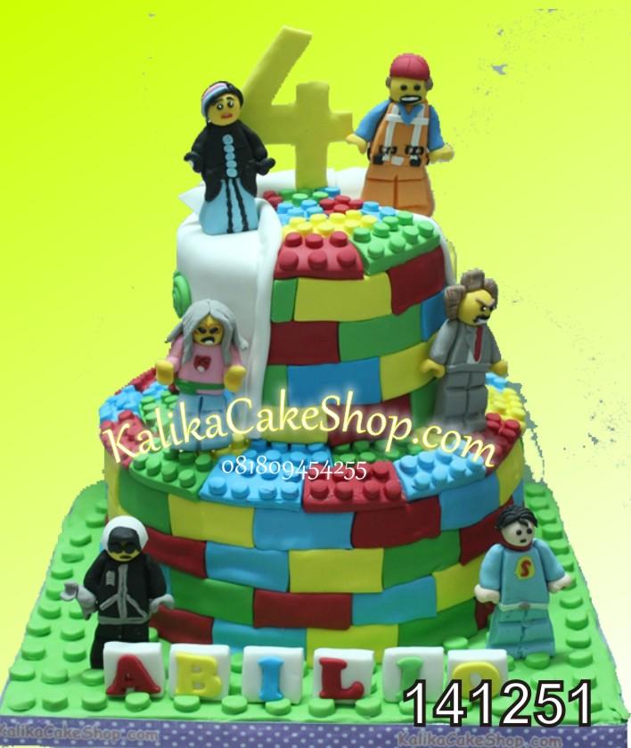 Kue Ulang Tahun Lego Abilio