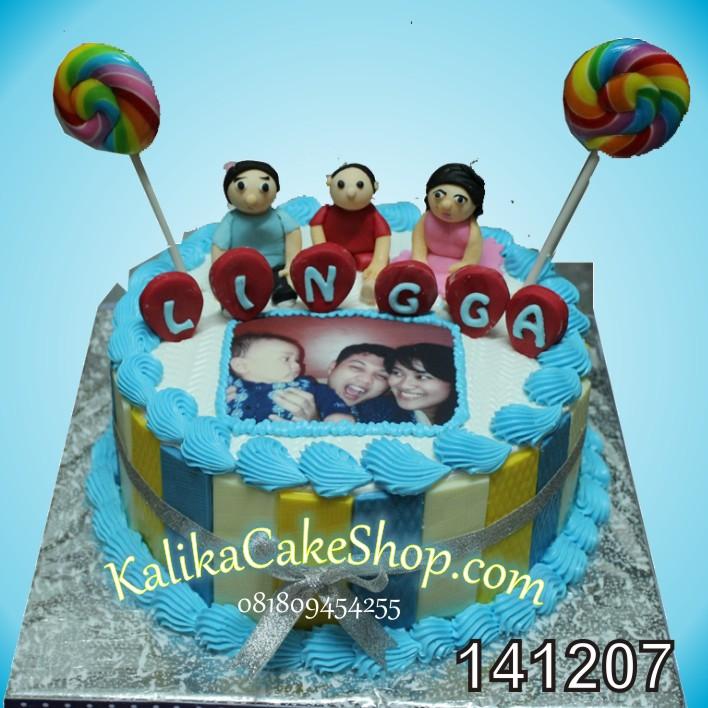 Kue Ulang Tahun Lingga