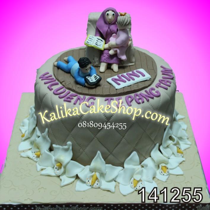 Kue Ulang Tahun Oechid Nini