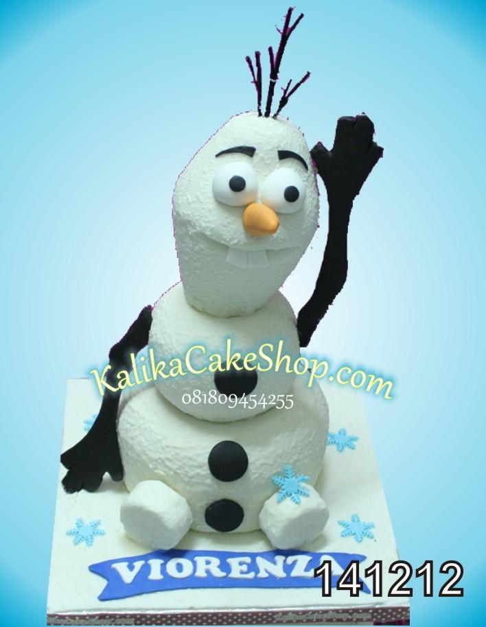 Kue Ulang Tahun Olaf Viorenza