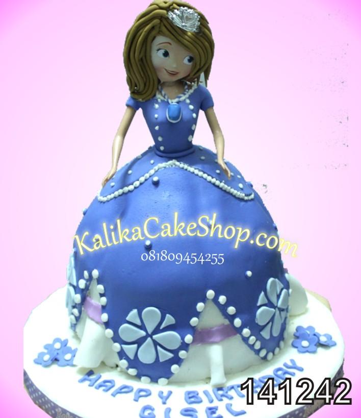 Kue Ulang Tahun Princess Sofia