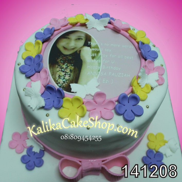 Kue Ulang Tahun Sweet Fower