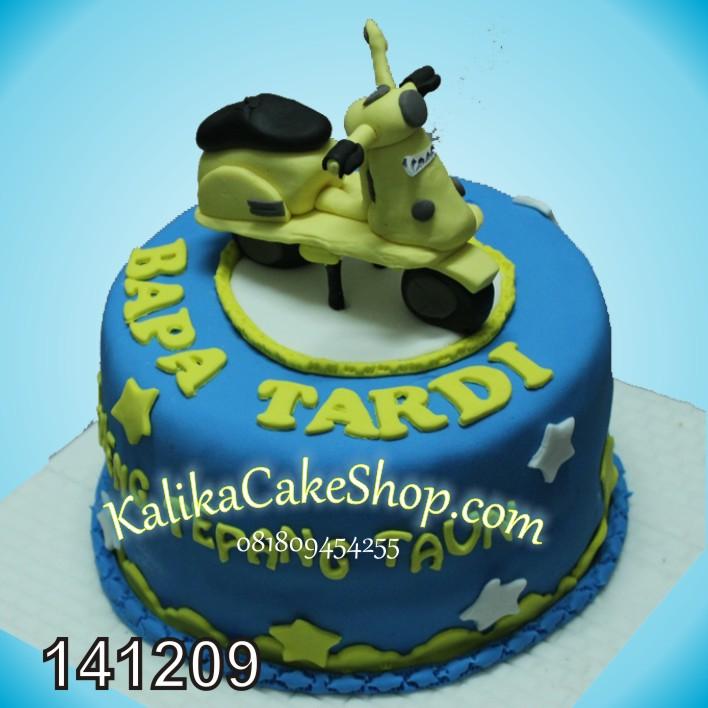 Kue Ulang Tahun Vespa