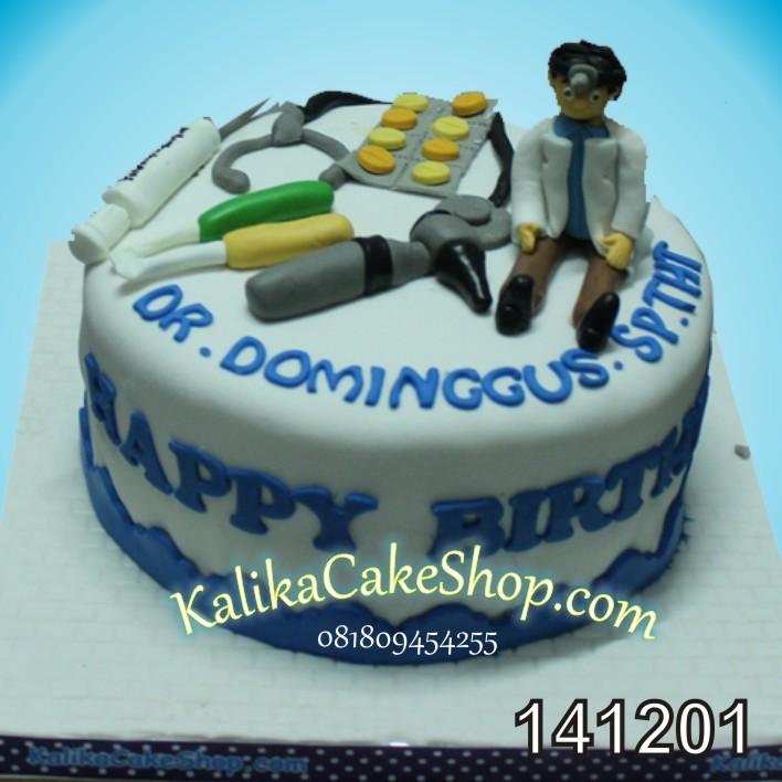 Kue ulang Tahun Dokter THT