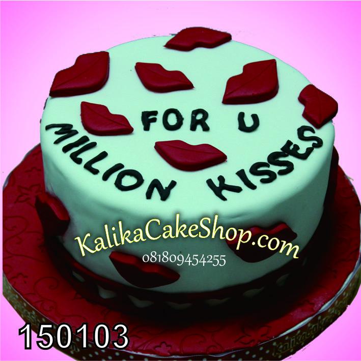 Kue Valentine Kisses