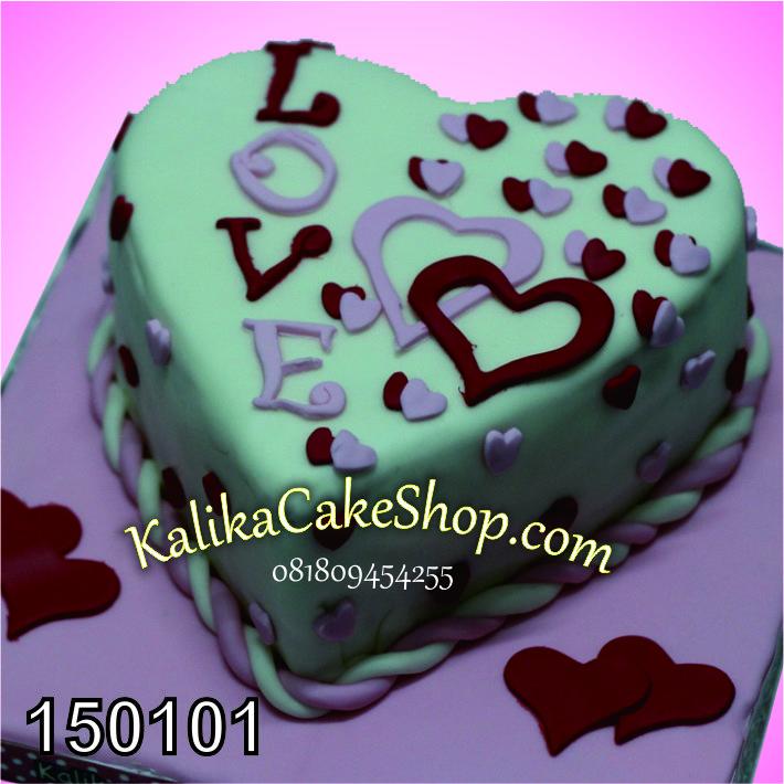 Kue Valentine Love