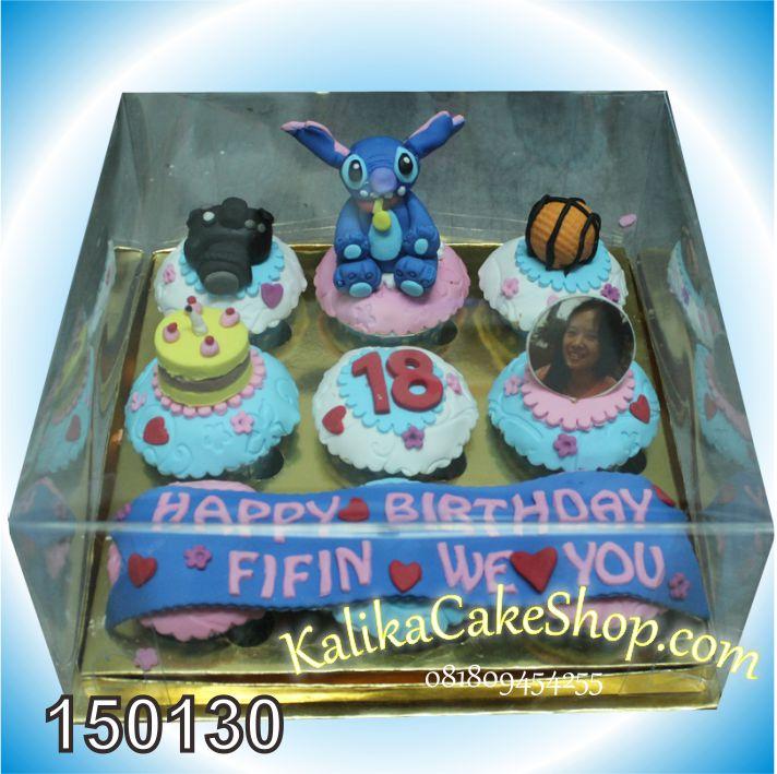 Cup Cake Stich 9pcs