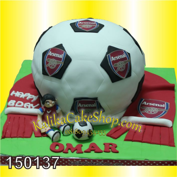 Kue Bola Arsenal