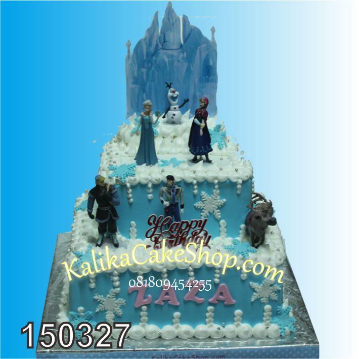 Kue Frozen 2 Susun Zaza
