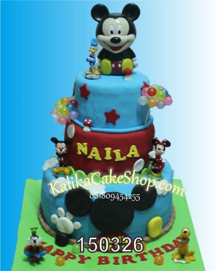 Kue Mickey Naila