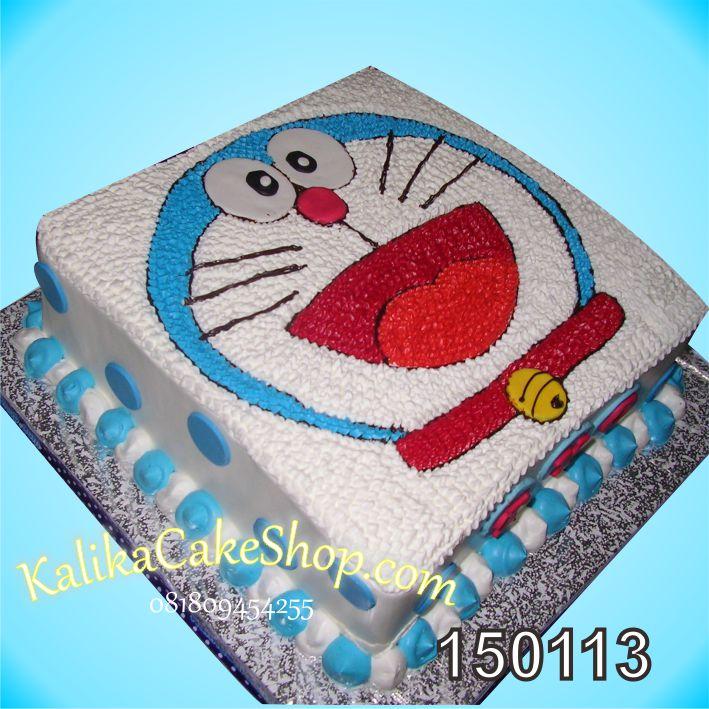Kue Ulang Doraemon Kotak