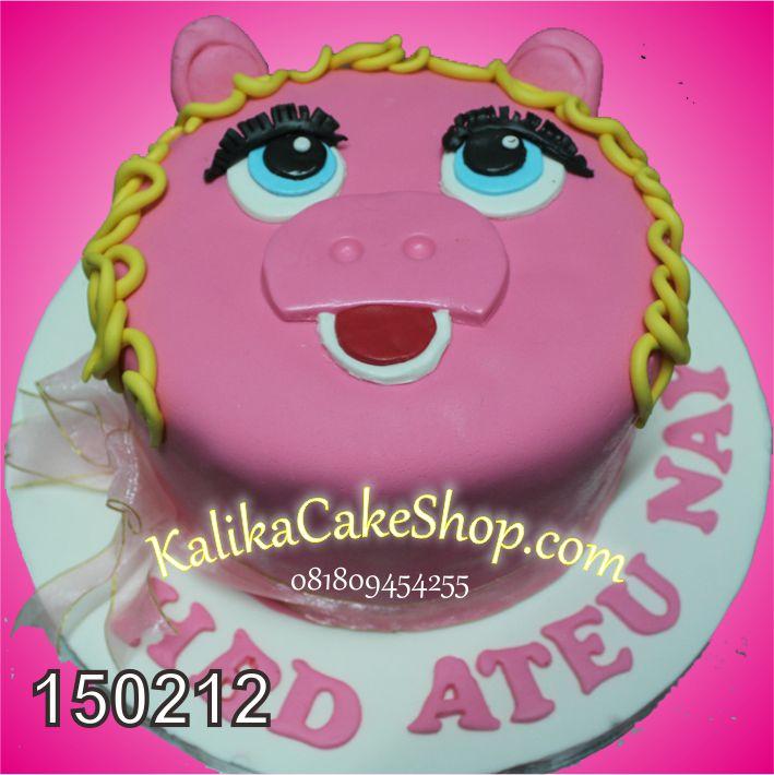 Kue Ulang TAhun Piggy