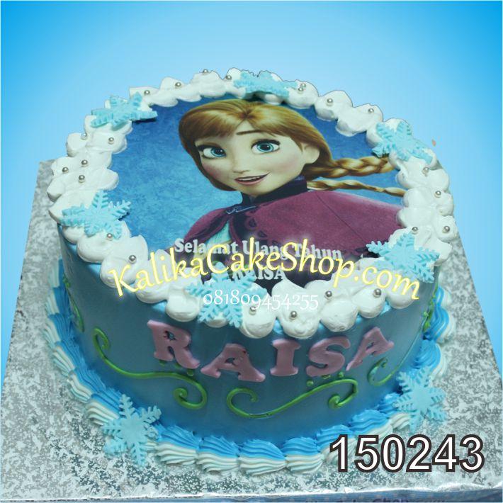 Kue Ulang Tahun Ana Raisa