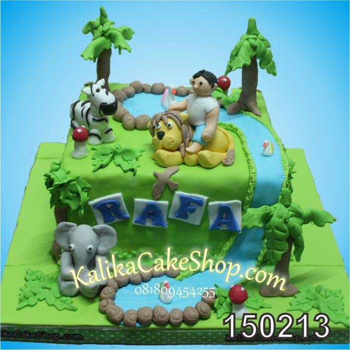 Kue Ulang Tahun Animal Rafa
